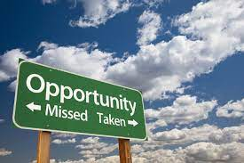 know opportunity is best way for success in life.