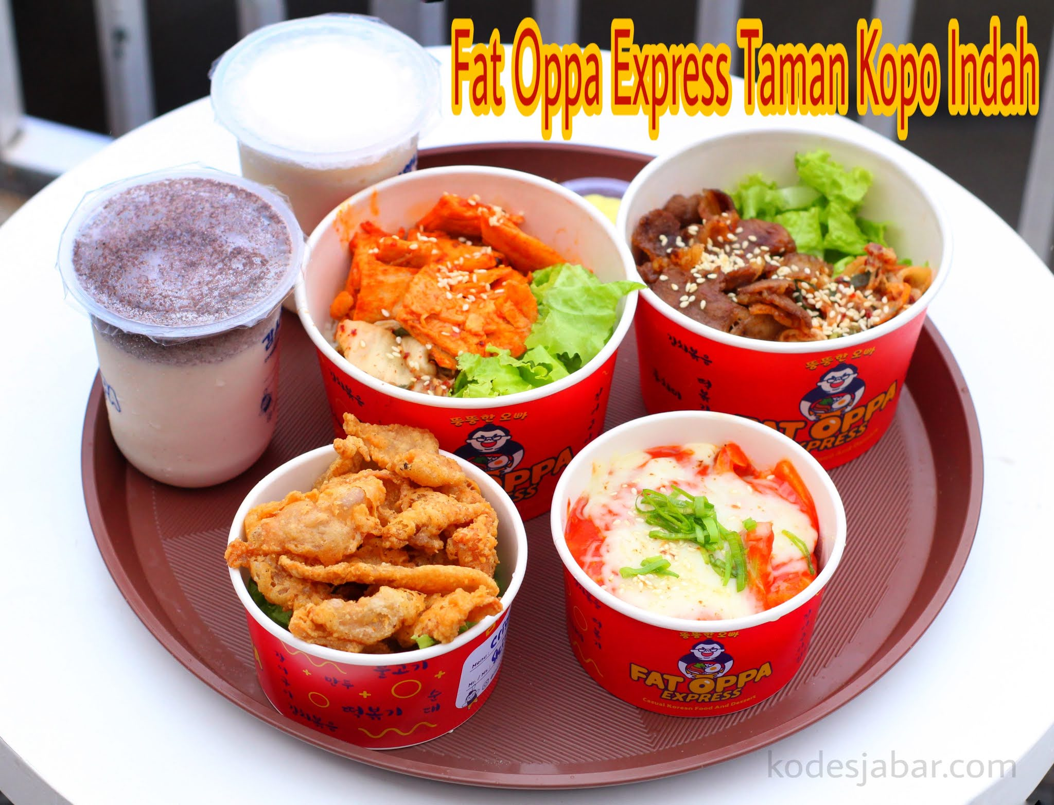 Fat Oppa Express, Restoran Korea Cepat Saji di Taman Kopo Indah
