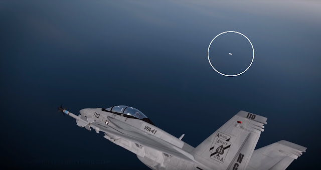 USS Nimitz Tic Tac UFO