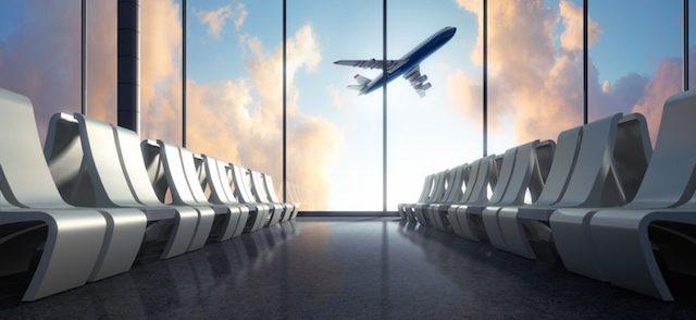 Aeroporto em Sevilha
