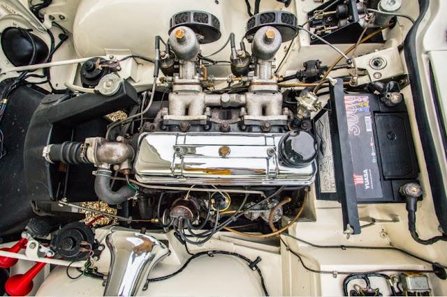 Motor de 4 cilindros - Triumph TR4 Police Cruiser 1962