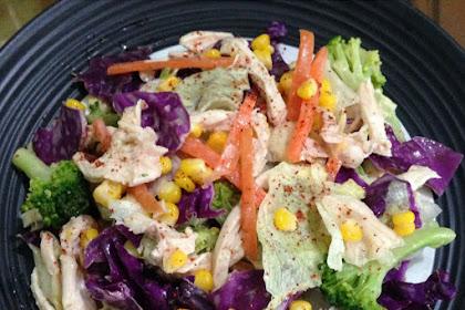 Resep Cara Membuat Salad Sayur Praktis Dan Sehat