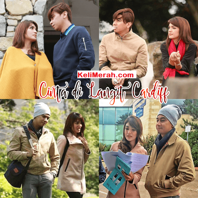 Drama Cinta Di Langit Cardiff ,Lakonan Amar Bahrin, Amyra Rosli