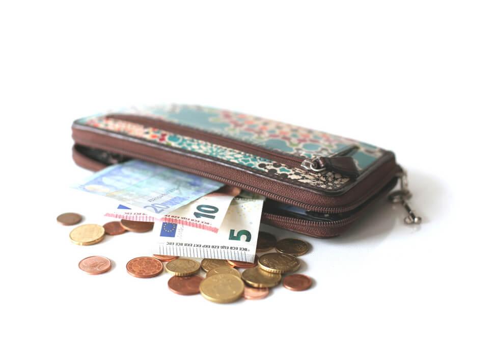 De portemonnee van Denise & Jochem, waar doen ze het van?