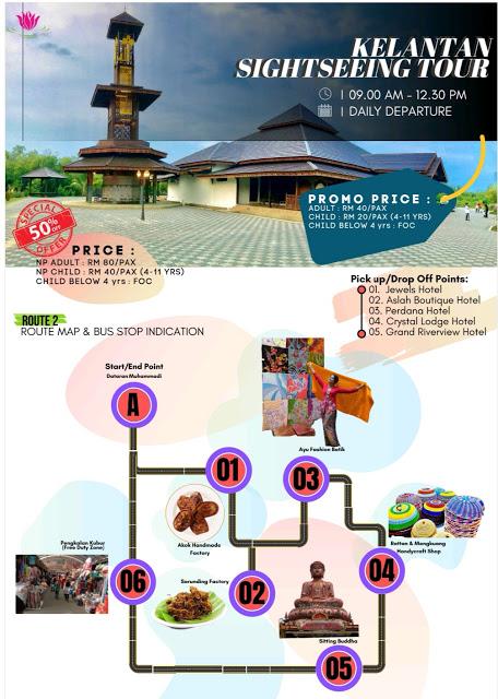 Kelantan Sightseeing Tour