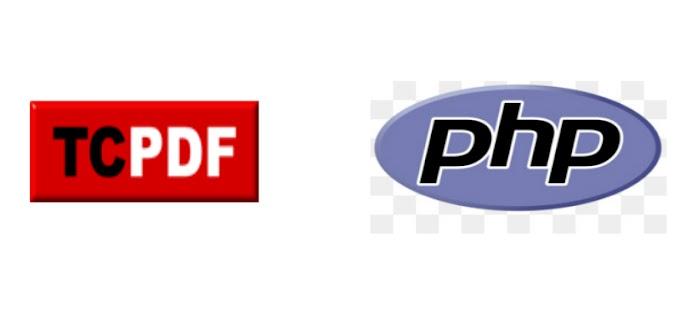 Membuat Cetak Landscape PDF dengan TCPDF di PHP Mysqli dan Framework PHP