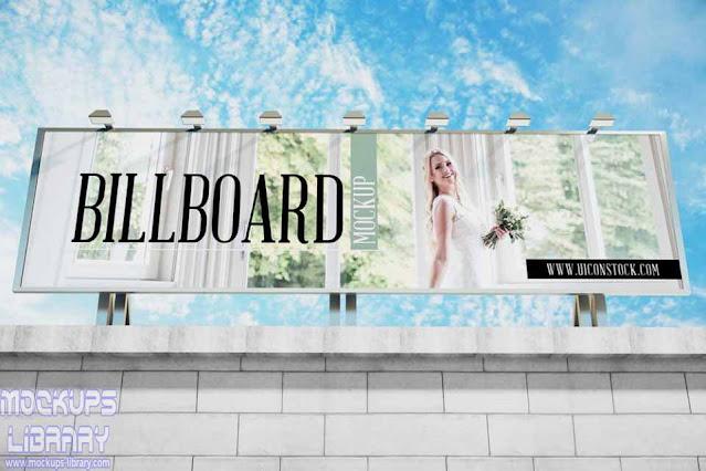 building billboard mockup