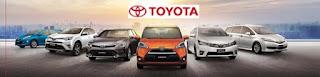 Daftar Harga Toyota Terbaru