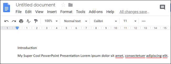 عند اللصق بدون تنسيق ، يلتزم النص بالتنسيق الذي يستخدمه المستند حيث قمت بلصقه.