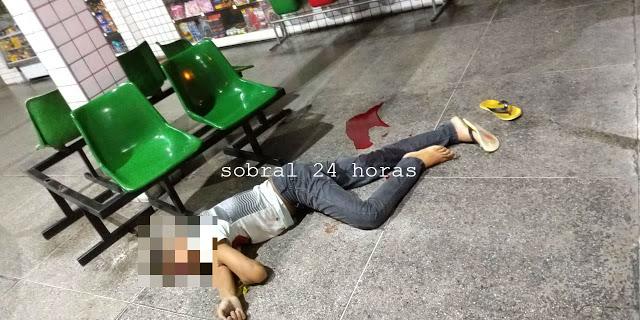 Jovem executado tiros Terminal Rodoviário