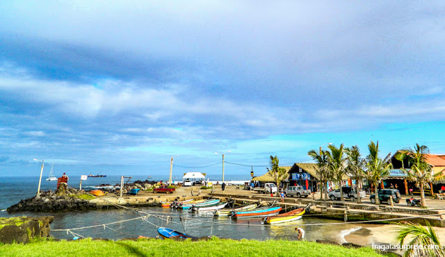 Caleta de los Pescadores, Hanga Roa, Ilha de Páscoa