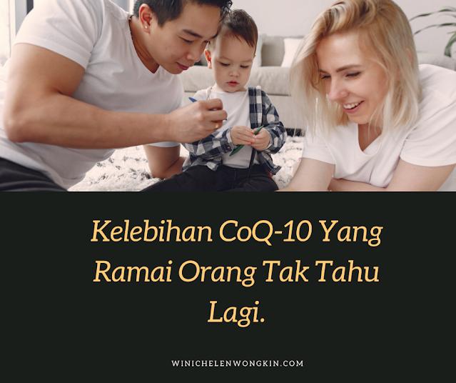 Kelebihan CoQ10 yang ramai orang tidak tahu lagi   Winichelen Wongkin