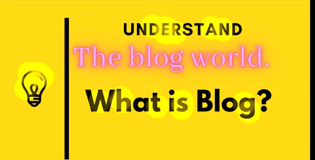 Understanding the blog world 🔥Blogger, WordPress