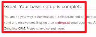 membuat nama email dari custom domain blogger third party