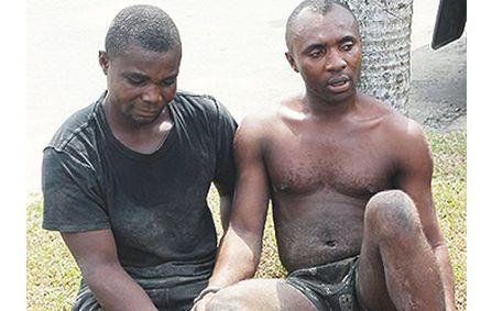 Armed Robbers Busted During Bank Robbery, 3 Arrested