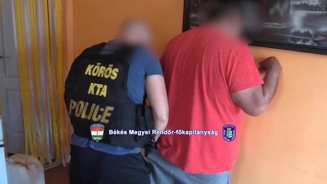 Sarkadi drogterjesztőket fogtak a rendőrök