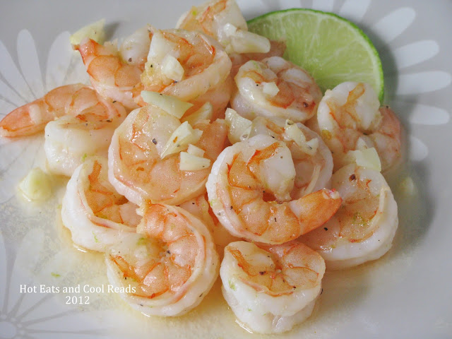 A healthy, easy and delicious meal for lunch or dinner! Serve over pasta or rice and with a veggie for a complete meal! Honey Garlic and Lime Shrimp Recipe from Hot Eats and Cool Reads