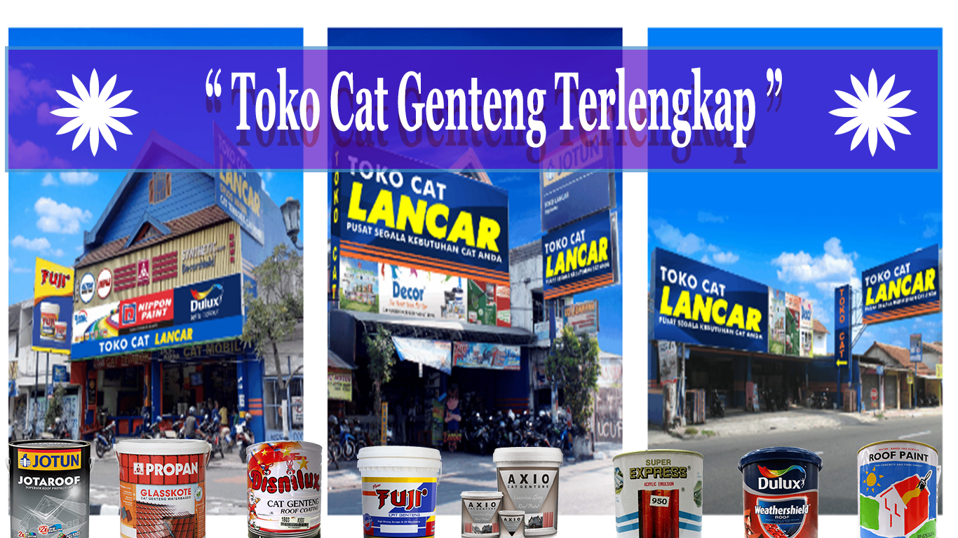 Toko Cat Genteng Terlengkap