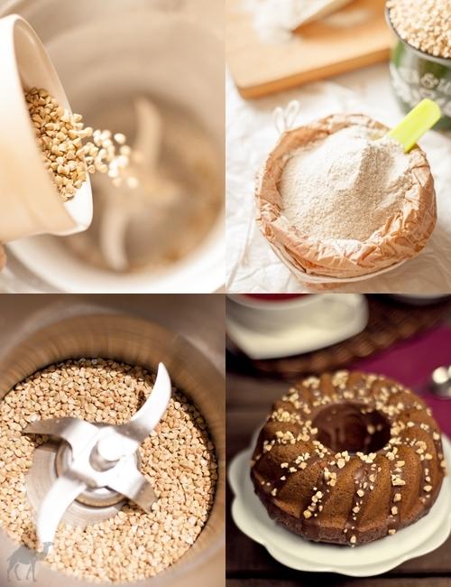 Piernik gryczany (bez jajek, cukru i mleka)