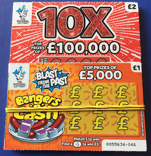 National Lottery Scratchcards from October 2019