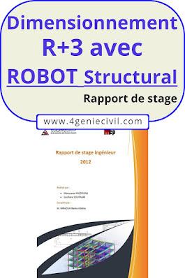 Exemple de rapport de stage ingénieur génie civil