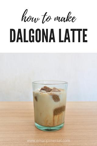 Dalgona Latte