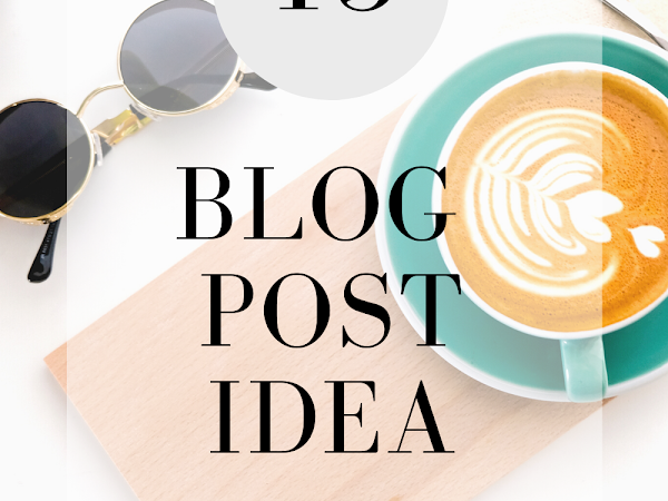 Skincare , makeup and lifestyle blog post idea