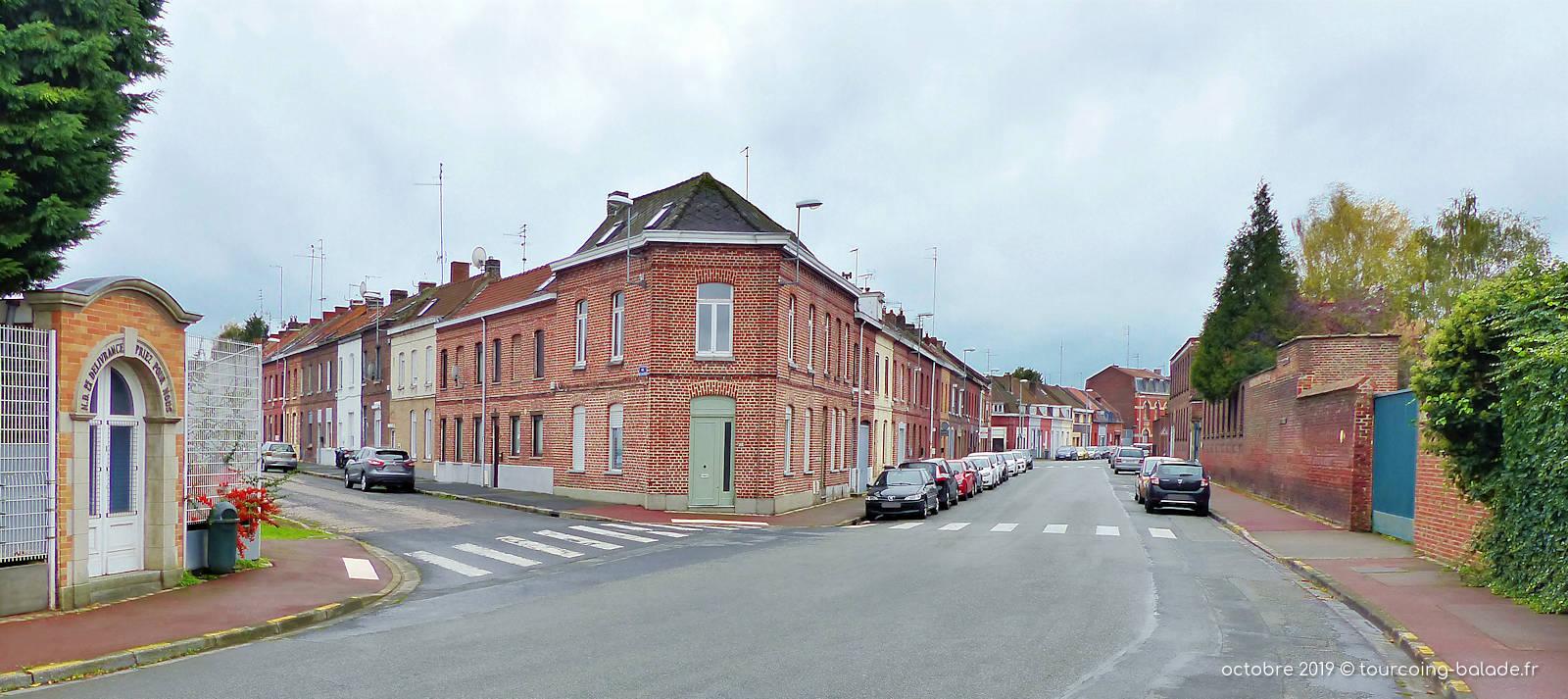 Rue du Virolois, Tourcoing - Oratoire.
