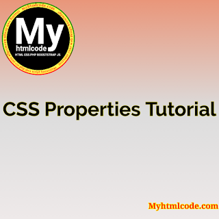 CSS Properties Tutorial