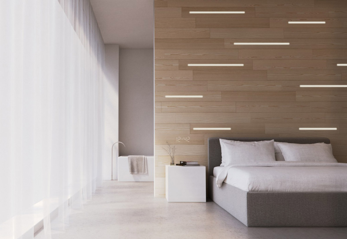 40 Desain Dinding Kayu Kamar Tidur Bernuansa Elegan Rumahku Unik