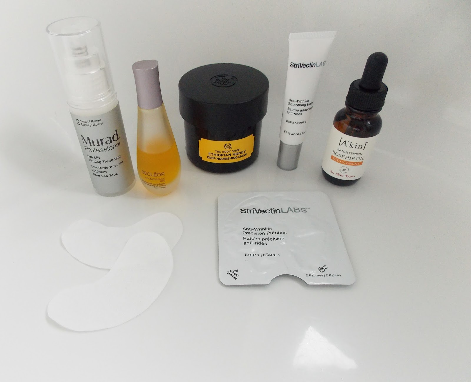 Stressed skin saviours…  Products i am currently using