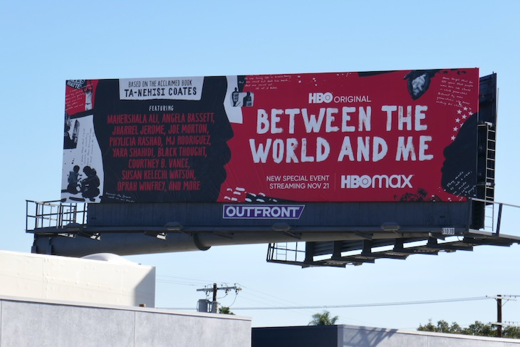 Between World and Me HBO billboard