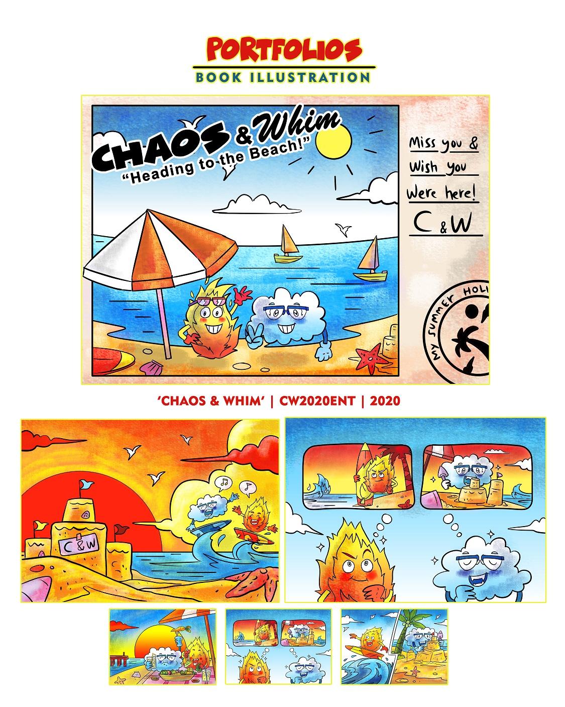 Mujix Children's Book Illustrations