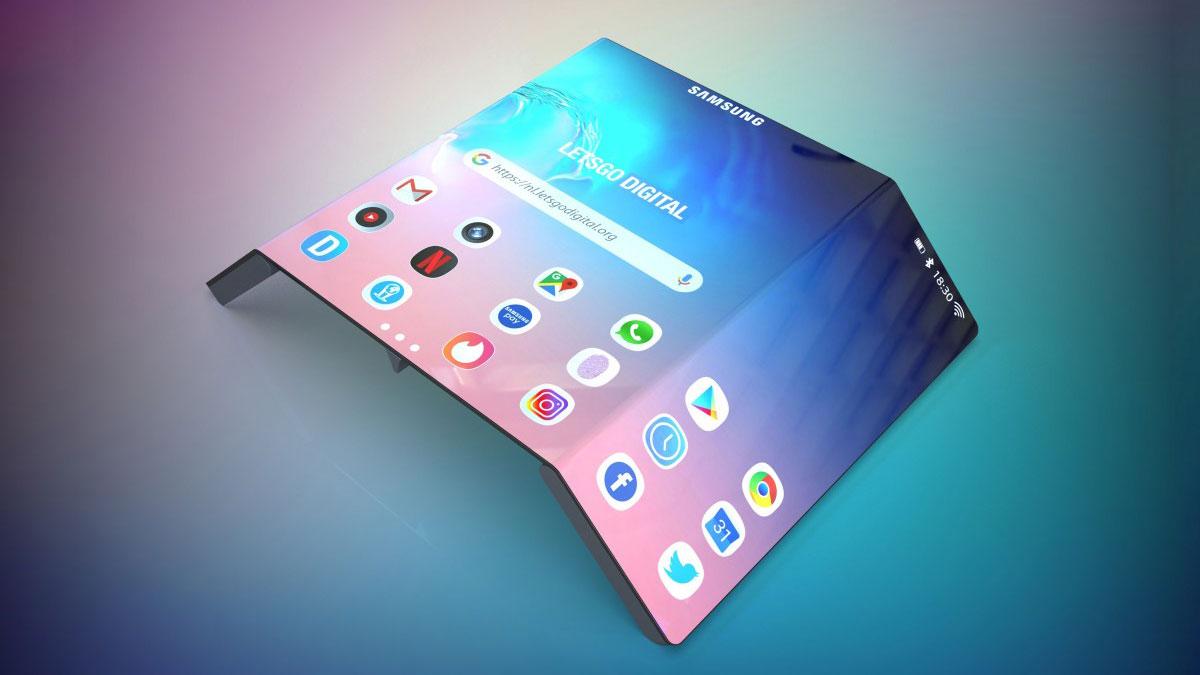 تؤكد شركة Samsung أنها تعمل على شاشات قابلة للدحرجة وقابلة للانزلاق