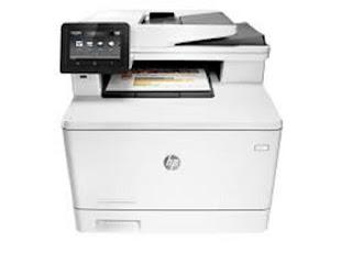 Picture HP Color LaserJet Pro MFP M477fnw Printer