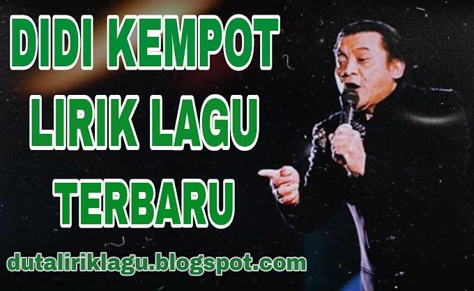 Lirik Lagu Kuncung - Didi Kempot