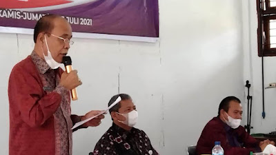 46 PNS di Samosir Ikut Ujian Kedinasan, Wabup: Jangan Hanya Mengejar Pangkat, Utamakan Pelayanan
