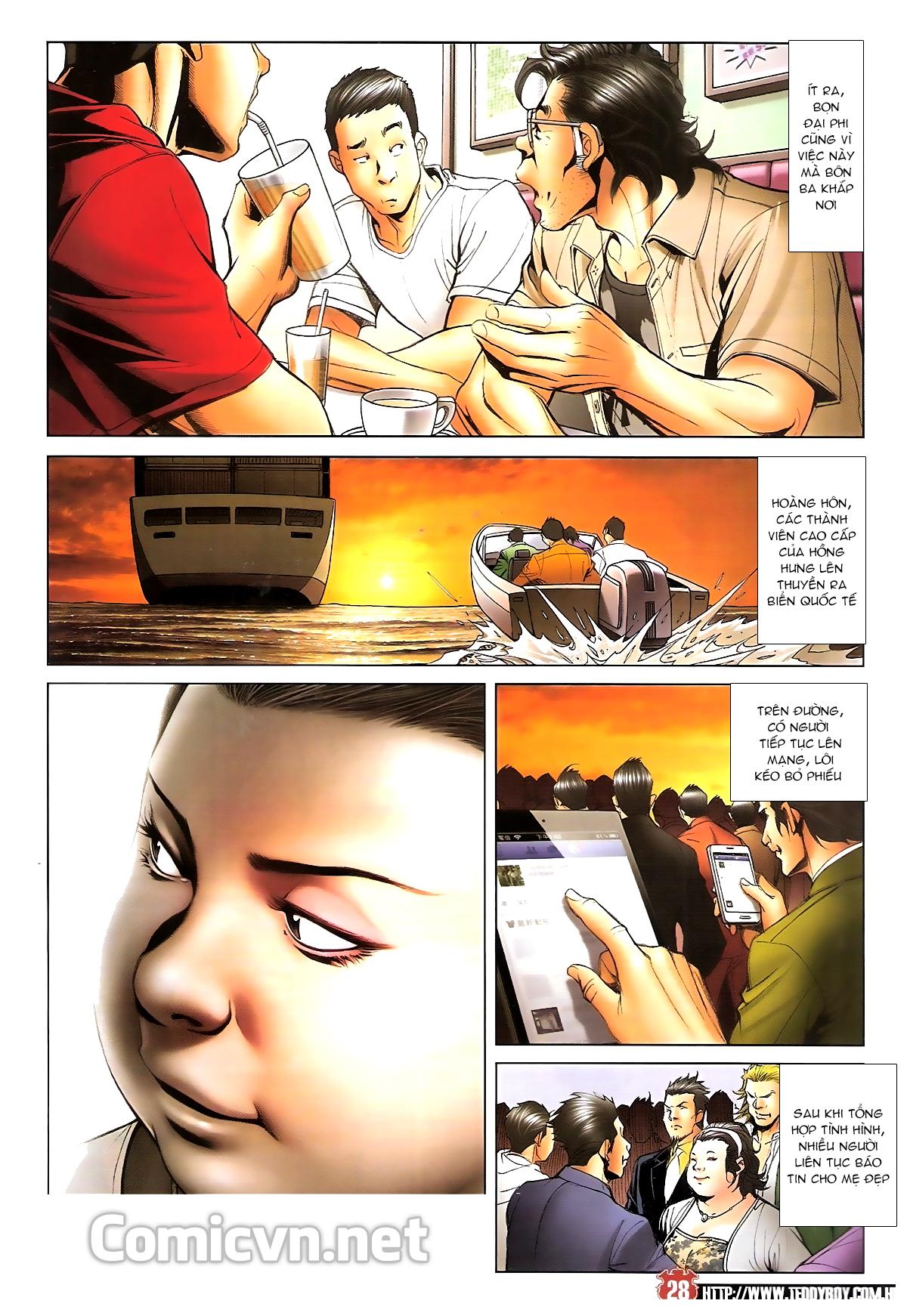 Người Trong Giang Hồ chapter 1643: tuyển cử cấp bách trang 26