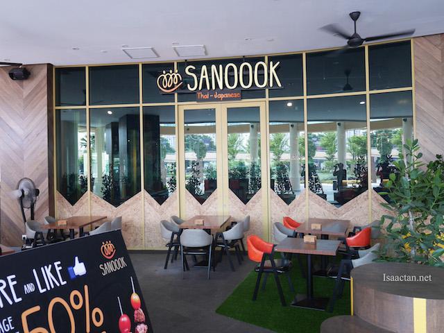 SANOOOK Thai Japanese Cuisine @ Sunway Pyramid Hotel West