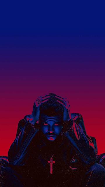blue wallpaper rapper