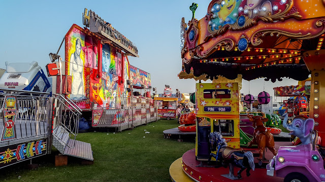 Photo of another view of the fair