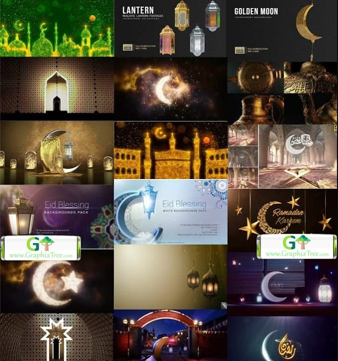 RAMADAN BUNDLE AFTER EFFECTS AND MOTION BACKGROUND (2020)[VIDEOHIVE]