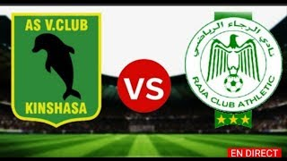 مشاهدة مباراة الرجاء البيضاوي و فيتا كلوب مباشر نهائي كأس الاتحاد الأفريقي