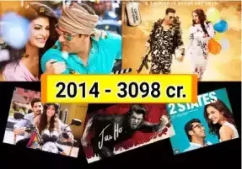 Bollywood Box Office Collection year 2014