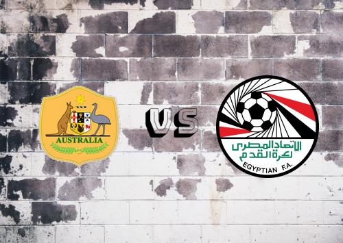 Australia vs Egypt Resumen