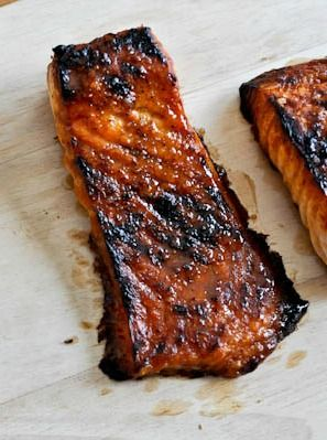 CRISPY BOURBON GLAZED SALMON. #recipes #dinnertonight #food #foodporn #healthy #yummy #instafood #foodie #delicious #dinner #breakfast #dessert #lunch #vegan #cake #eatclean #homemade #diet #healthyfood #cleaneating #foodstagram