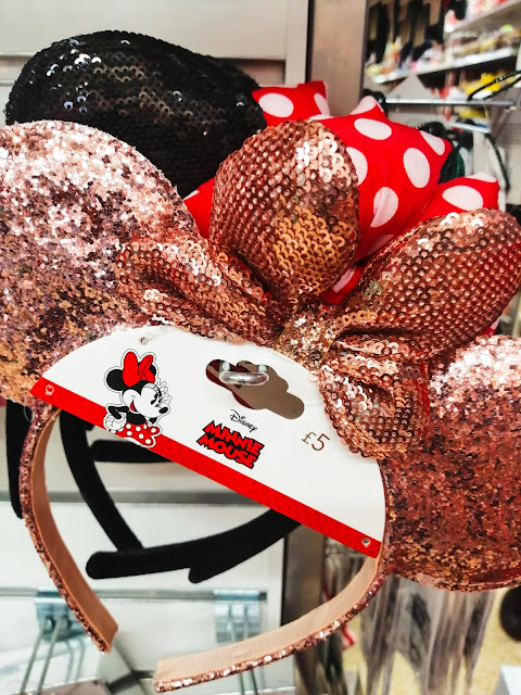 sequinned kids Minnie ears from Sainsburys