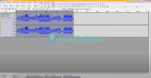 تحميل 5 برامج  فصل الصوت عن الموسيقى للكمبيوتر 2021 GoldWave - Audacity