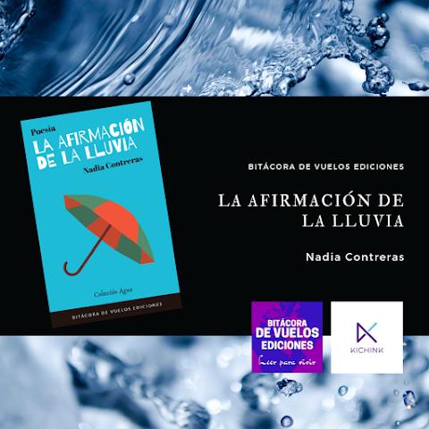 #EBOOK #POESÍA La afirmación de la lluvia, de Nadia Contreras