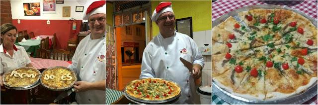 Onde comer em Santa Leopoldina - pizzaria/restaurante L´Incontro
